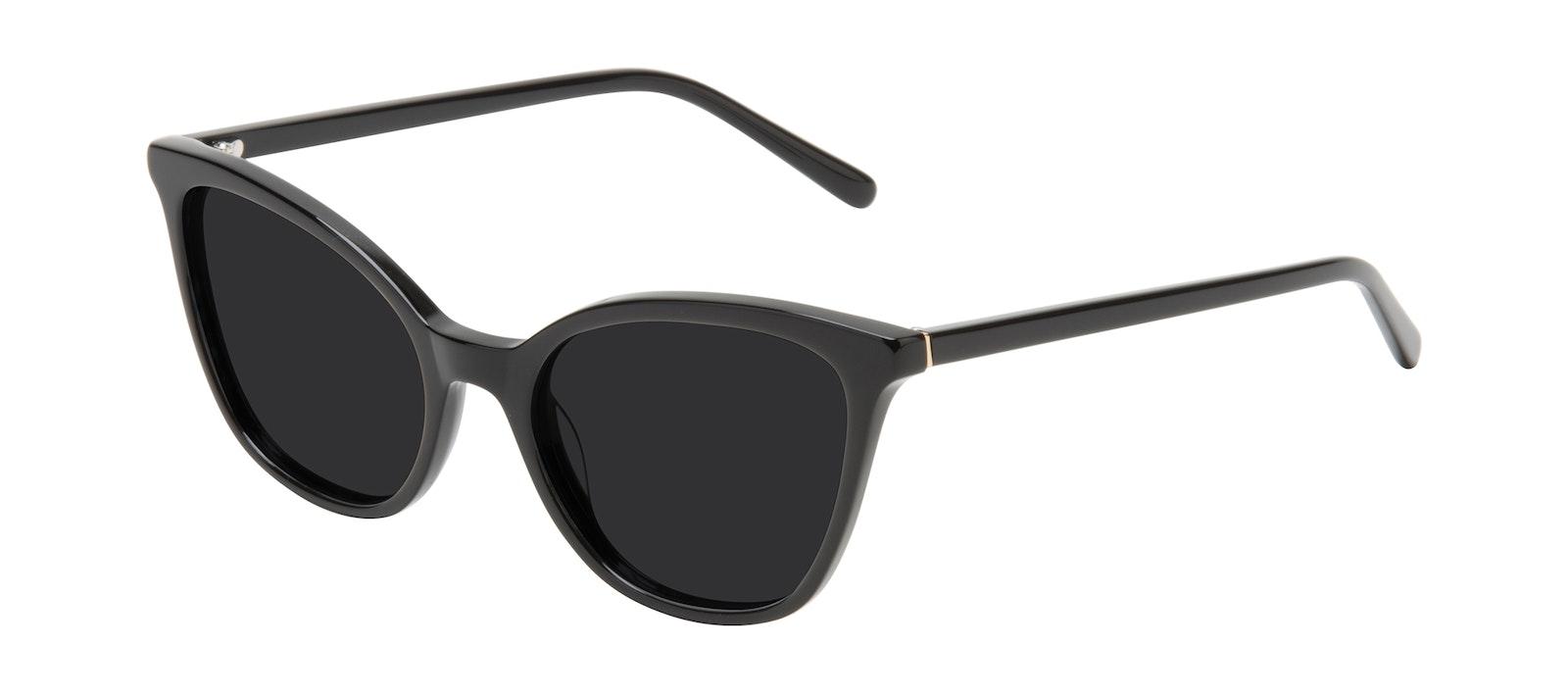 Affordable Fashion Glasses Cat Eye Sunglasses Women Tippi Onyx Tilt