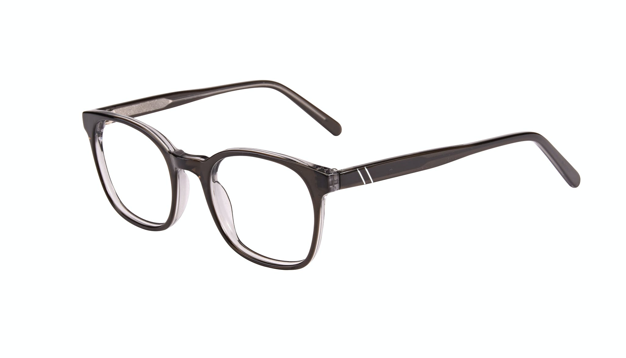 Affordable Fashion Glasses Rectangle Eyeglasses Men Trace Black Ice Tilt