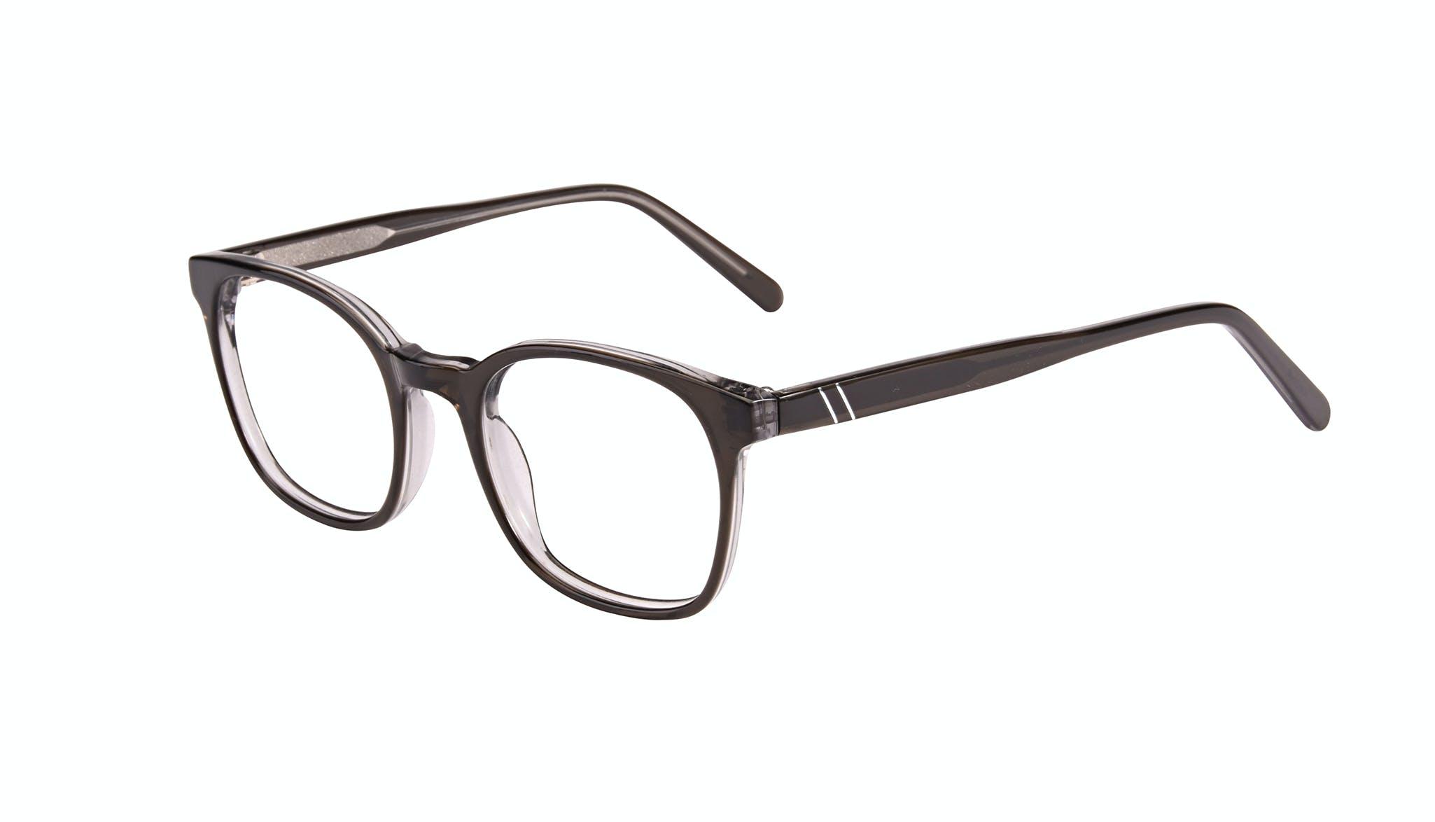 Affordable Fashion Glasses Rectangle Eyeglasses Men Trace Black Ice Tilt