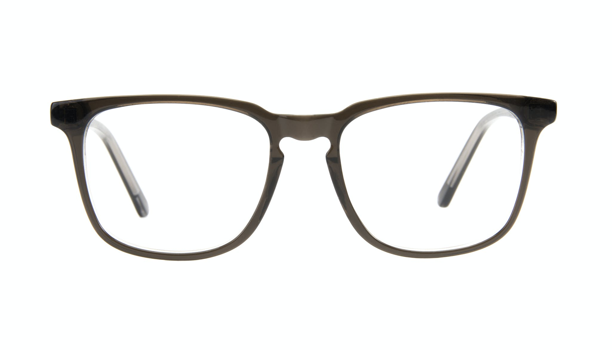 Affordable Fashion Glasses Rectangle Eyeglasses Men Trace Black Ice Front
