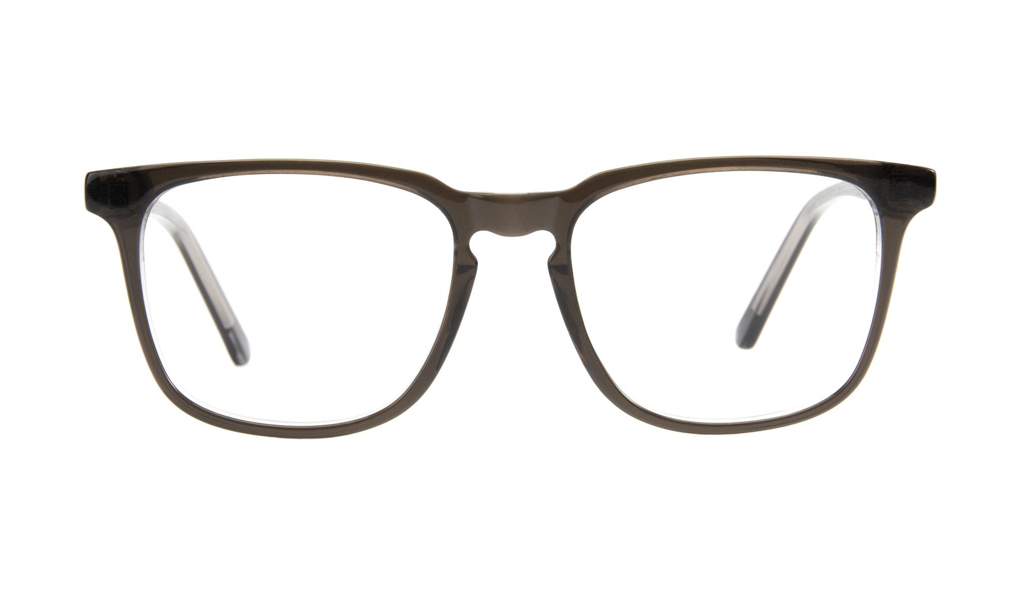 Affordable Fashion Glasses Rectangle Eyeglasses Men Trace Black Ice Front
