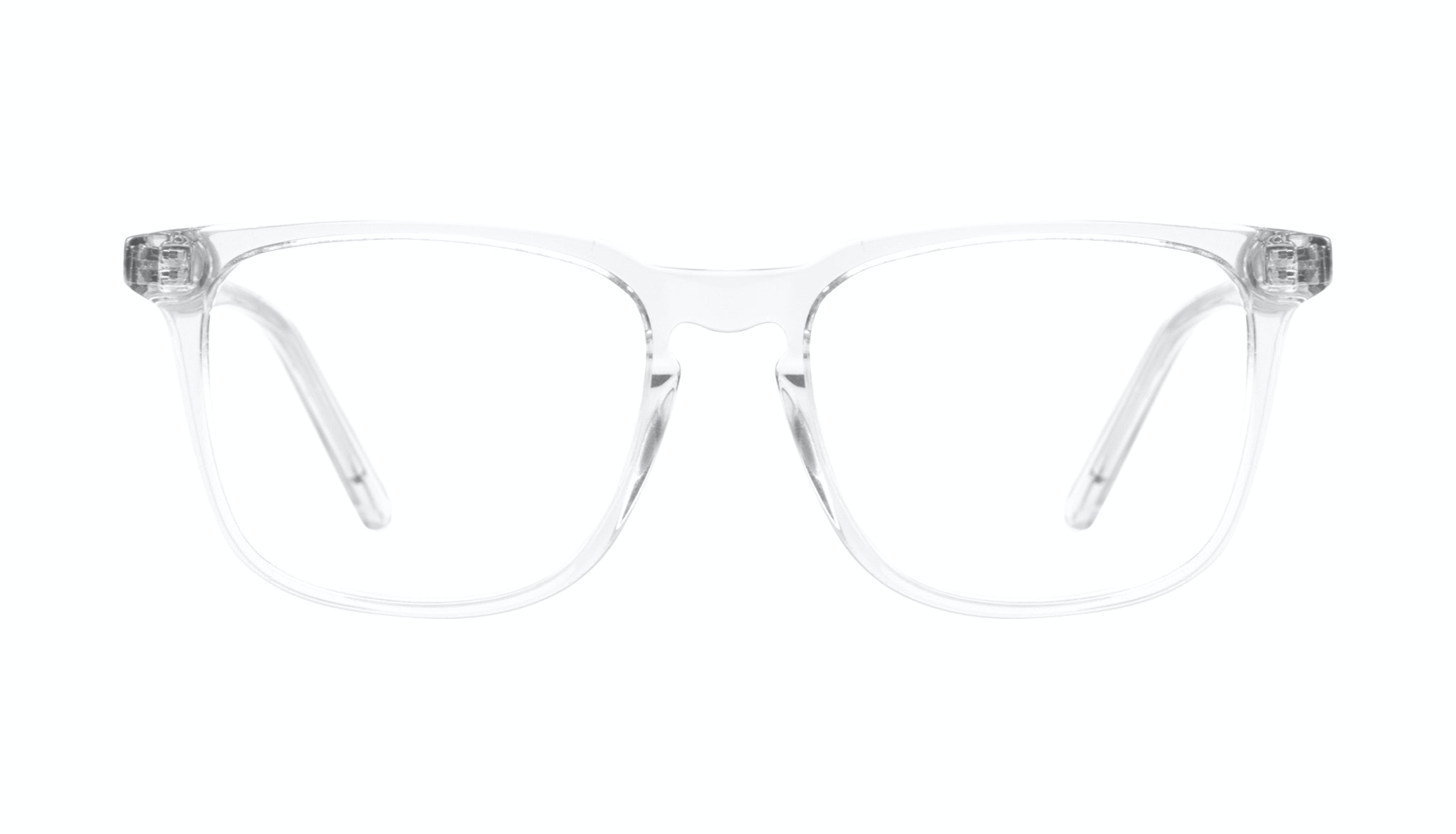 Affordable Fashion Glasses Rectangle Eyeglasses Men Trace grey
