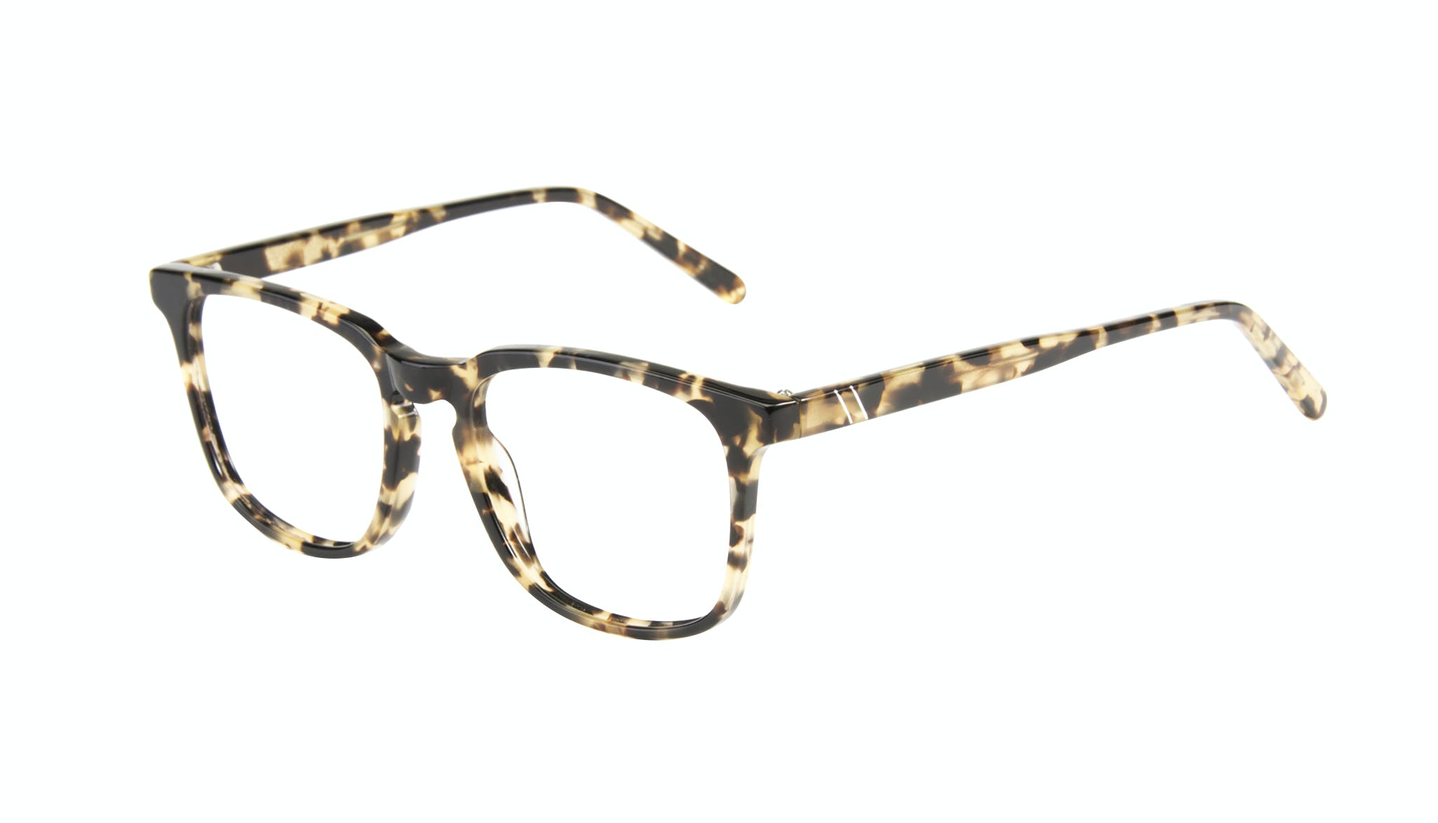 Affordable Fashion Glasses Rectangle Eyeglasses Men Trace Tortoise Tilt