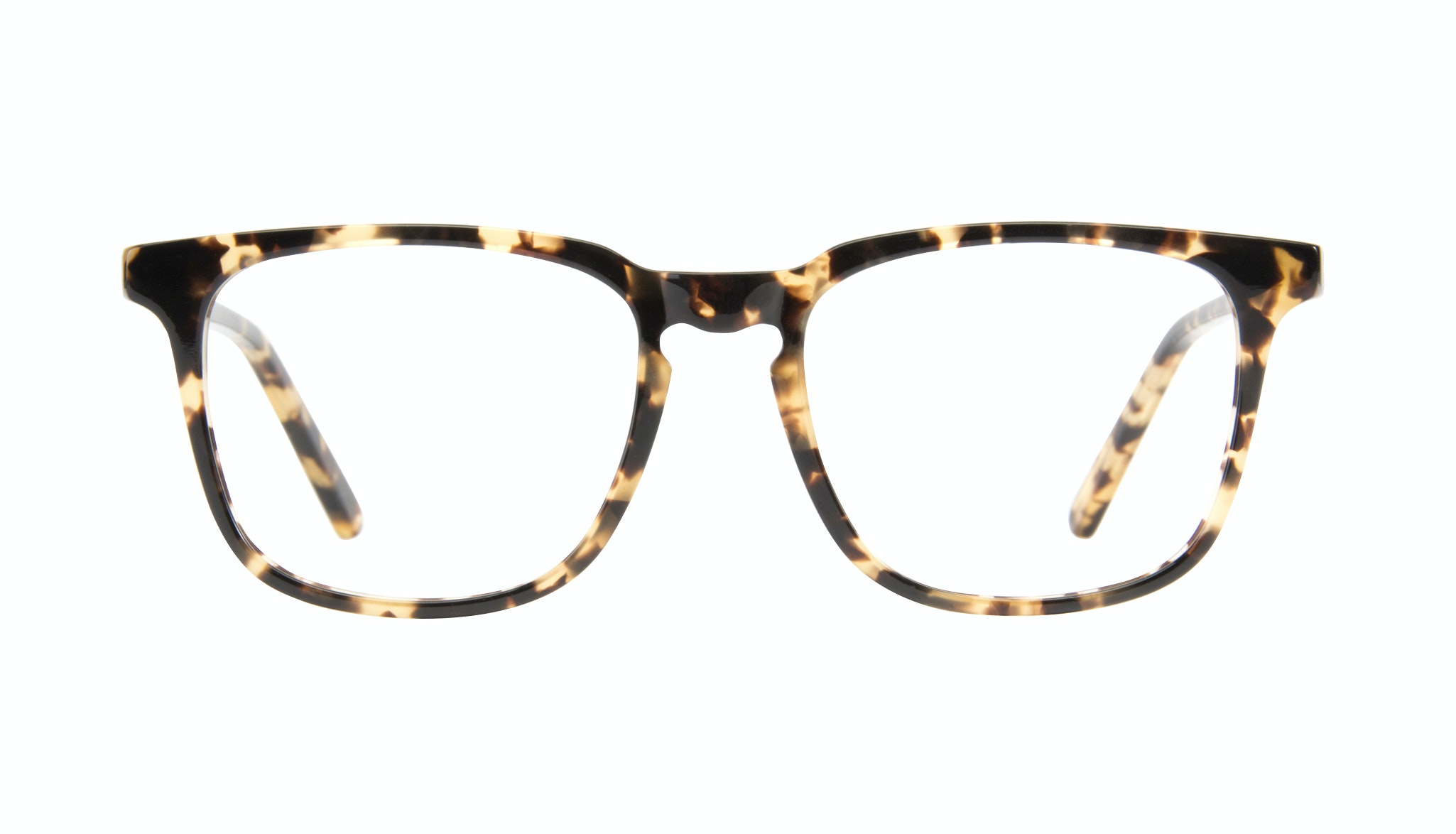 Affordable Fashion Glasses Rectangle Eyeglasses Men Trace Tortoise