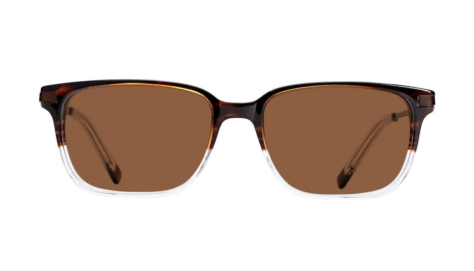 Affordable Fashion Glasses Rectangle Sunglasses Men Trade Mud Clear