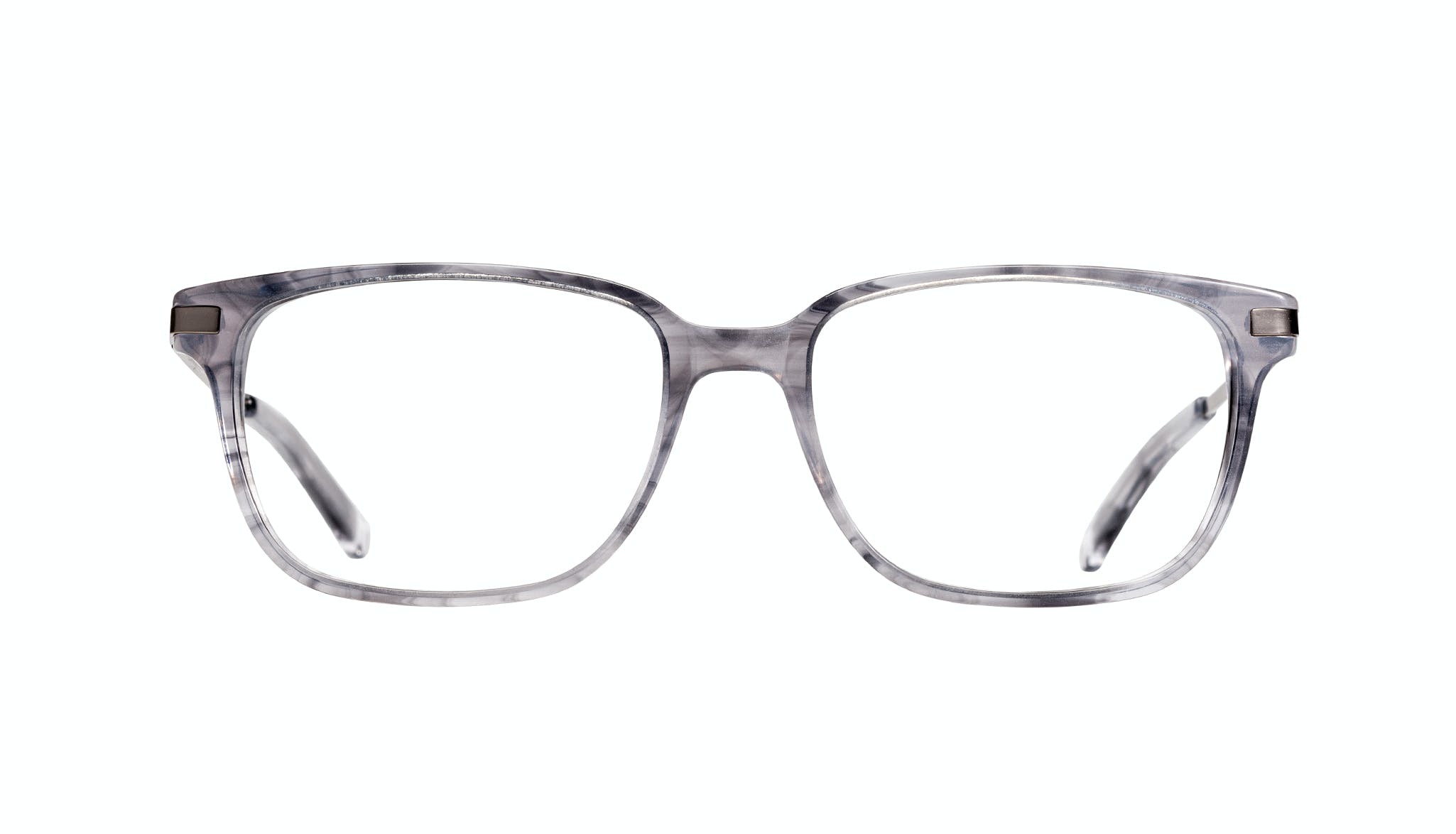 Affordable Fashion Glasses Rectangle Eyeglasses Men Trade Smokey Grey Front