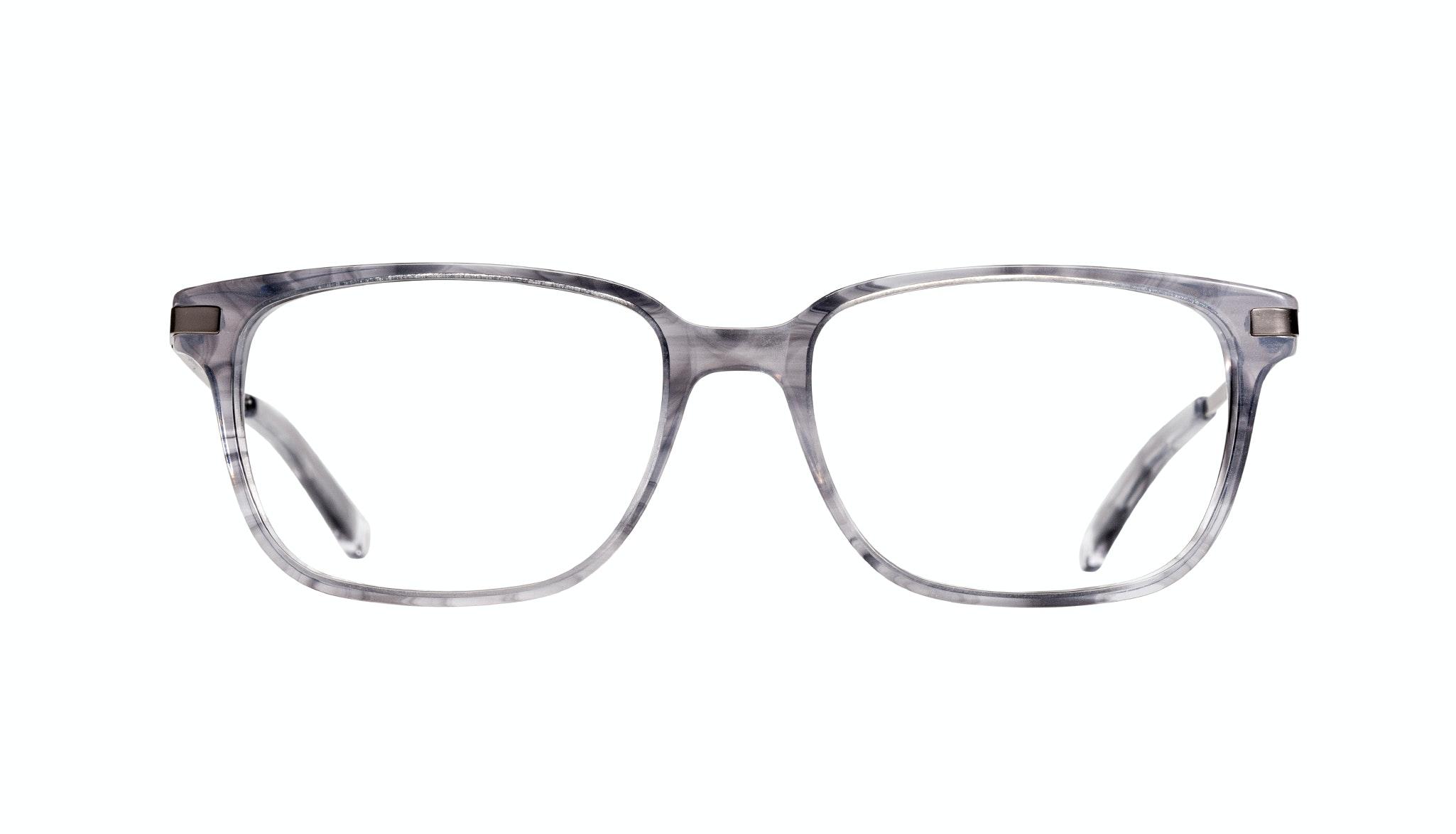 Affordable Fashion Glasses Rectangle Eyeglasses Men Trade Smokey Grey Front