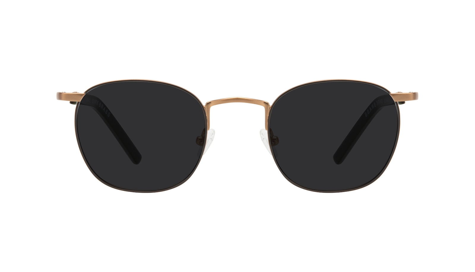 Affordable Fashion Glasses Round Sunglasses Men Trail Dark Brass