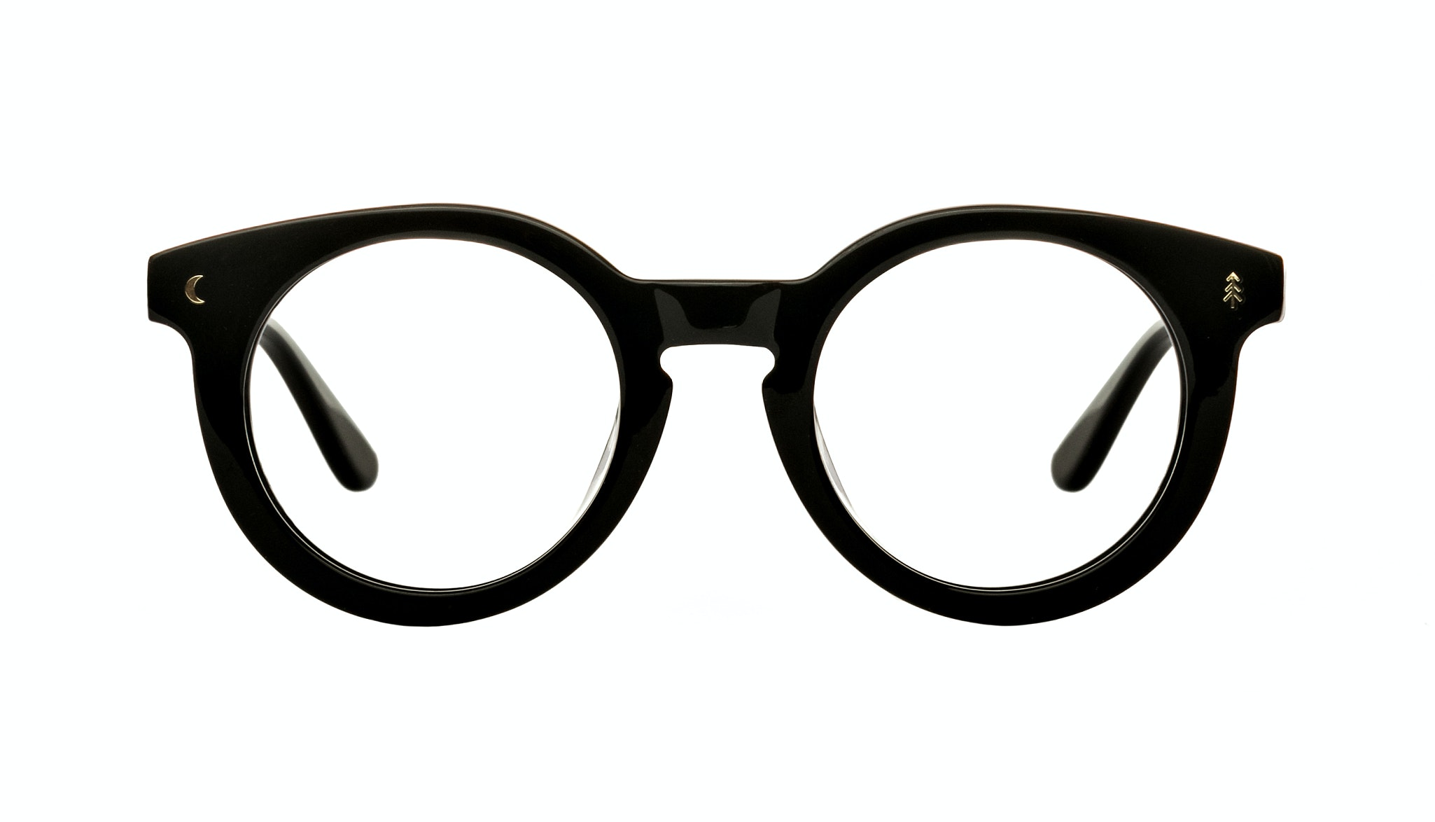 Affordable Fashion Glasses Round Eyeglasses Women Trailblazer Eclipse Black