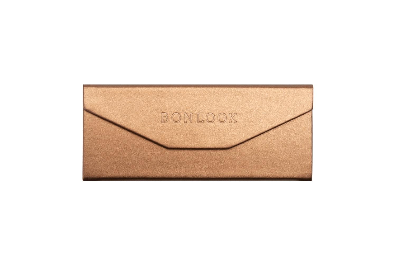 Lunettes tendance Accessoire Femmes Triangle Envelop Case Copper Face