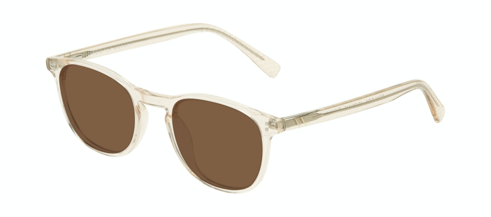 Affordable Fashion Glasses Round Sunglasses Men Trooper Golden Tilt