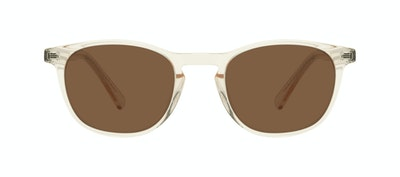 Affordable Fashion Glasses Round Sunglasses Men Trooper Golden Front