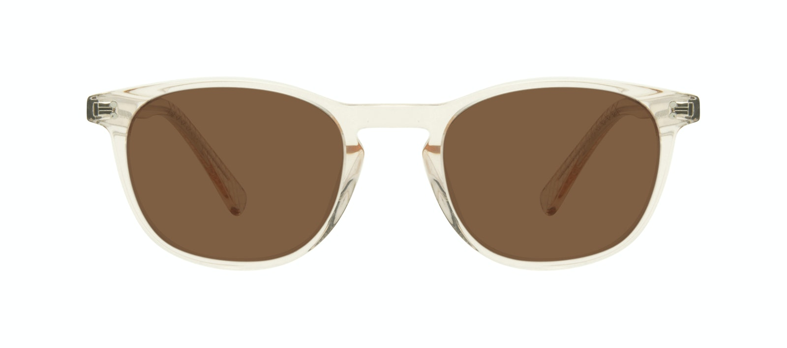 Affordable Fashion Glasses Round Sunglasses Men Trooper Golden Front