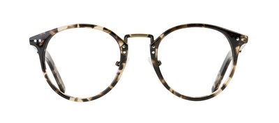 Affordable Fashion Glasses Round Eyeglasses Men Truly Deep Tort Front