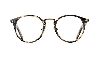 Affordable Fashion Glasses Round Eyeglasses Men Truly Deep Tort Front