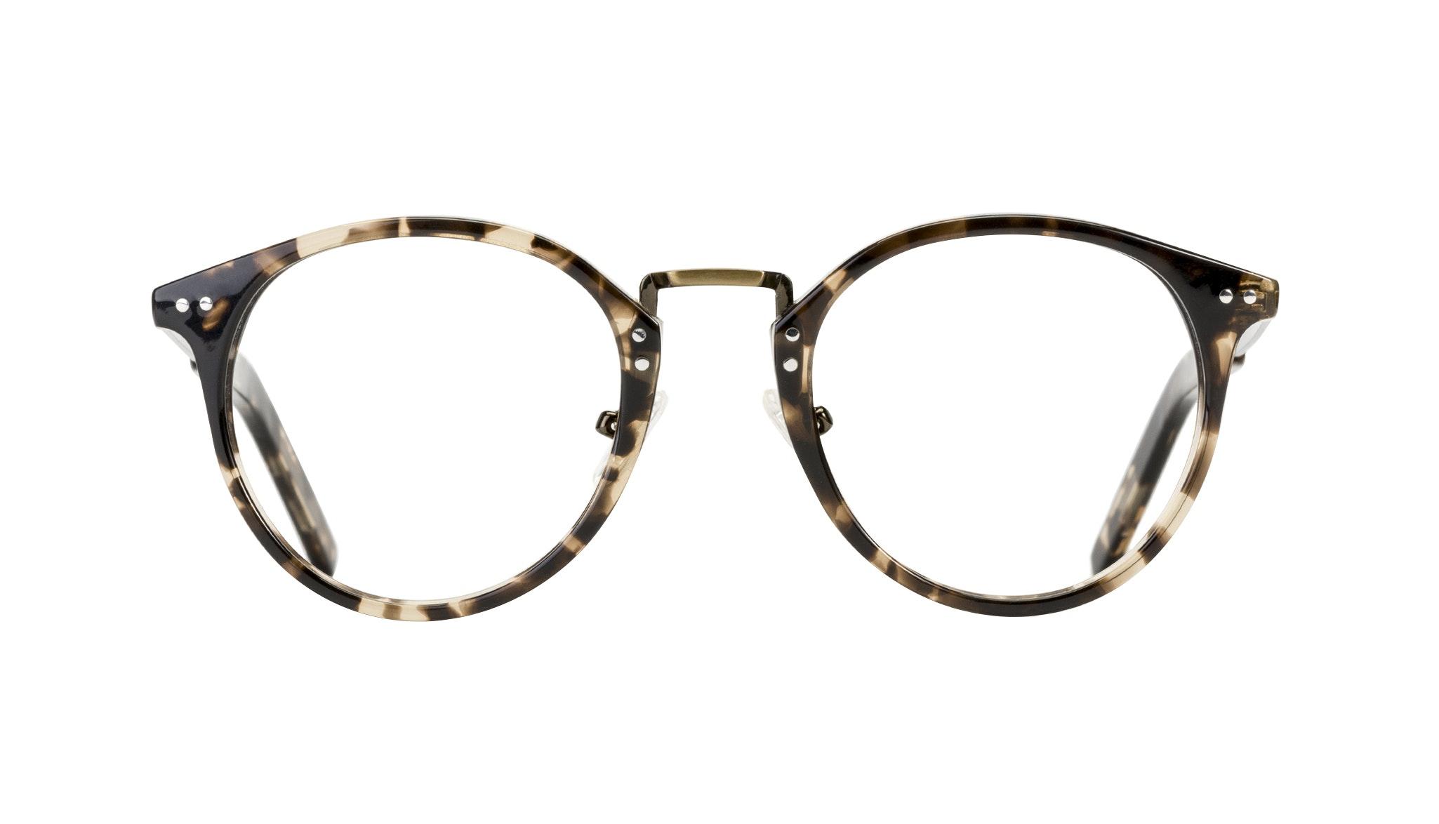 Affordable Fashion Glasses Round Eyeglasses Men Truly Deep Tort