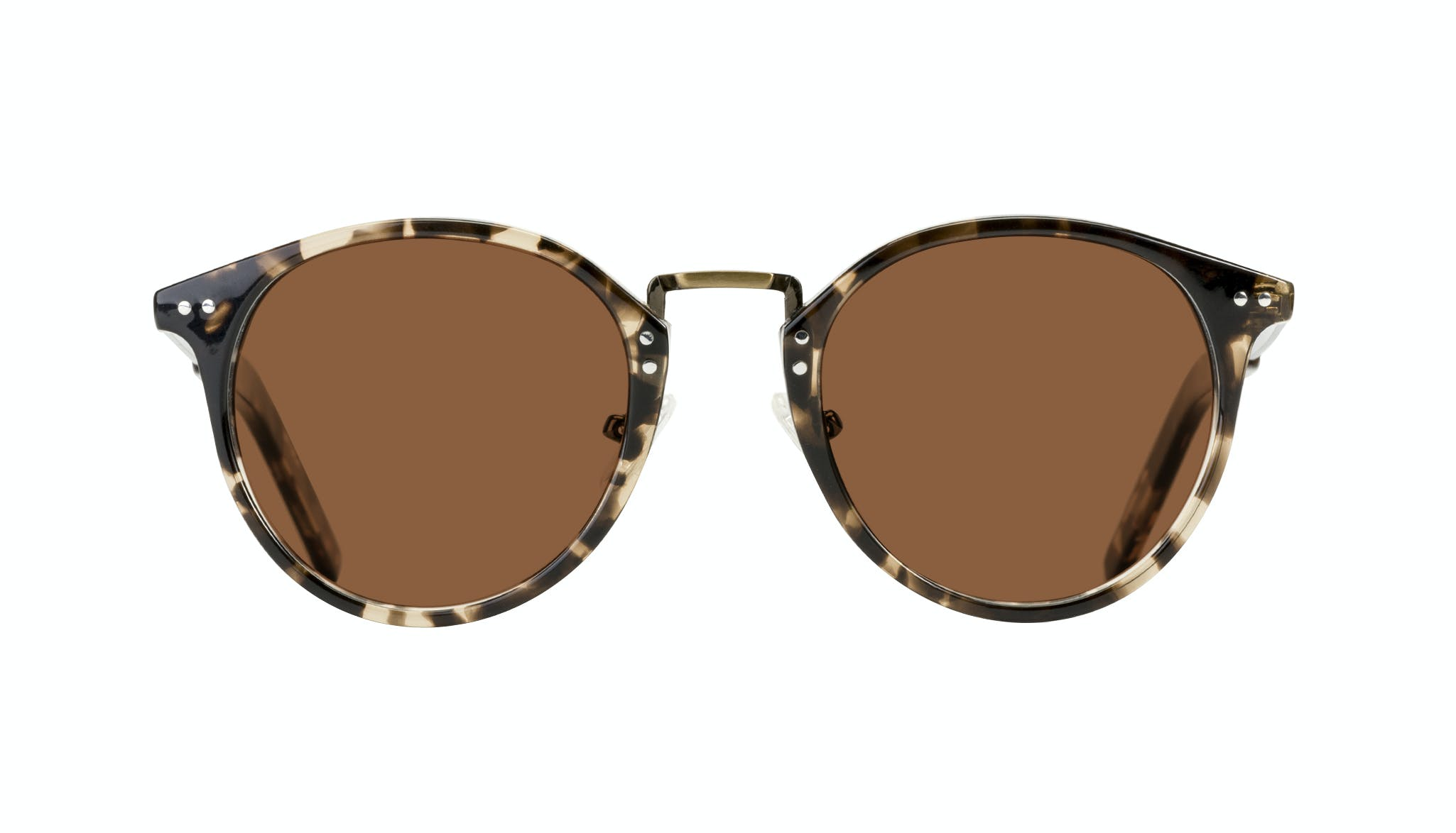 Affordable Fashion Glasses Round Sunglasses Men Truly Deep Tort Front