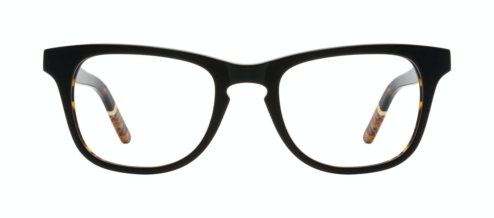 12a080bf53f Affordable Fashion Glasses Rectangle Eyeglasses Men Trust Black Tort Front