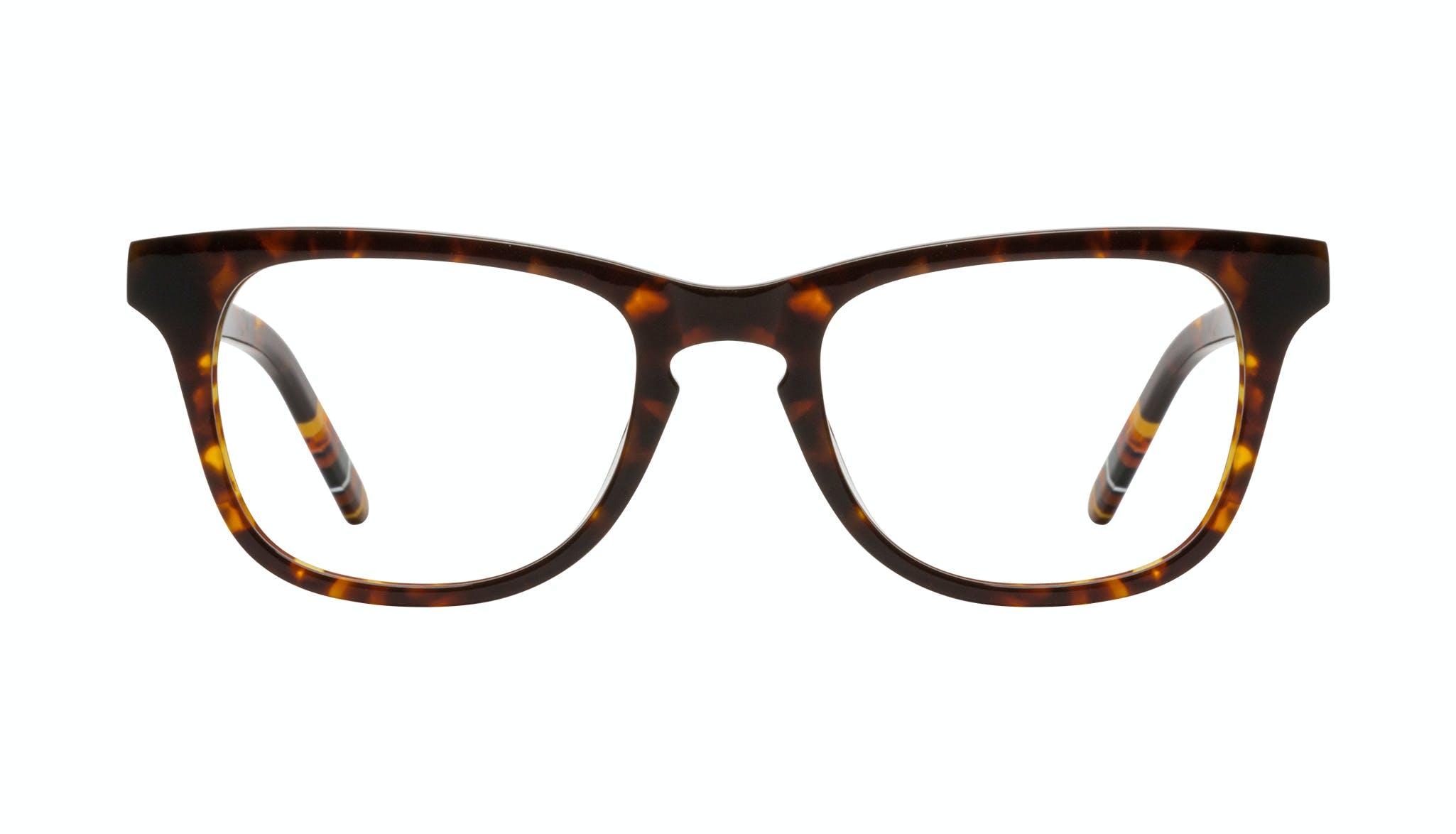 Affordable Fashion Glasses Rectangle Eyeglasses Men Trust Tortoise Front