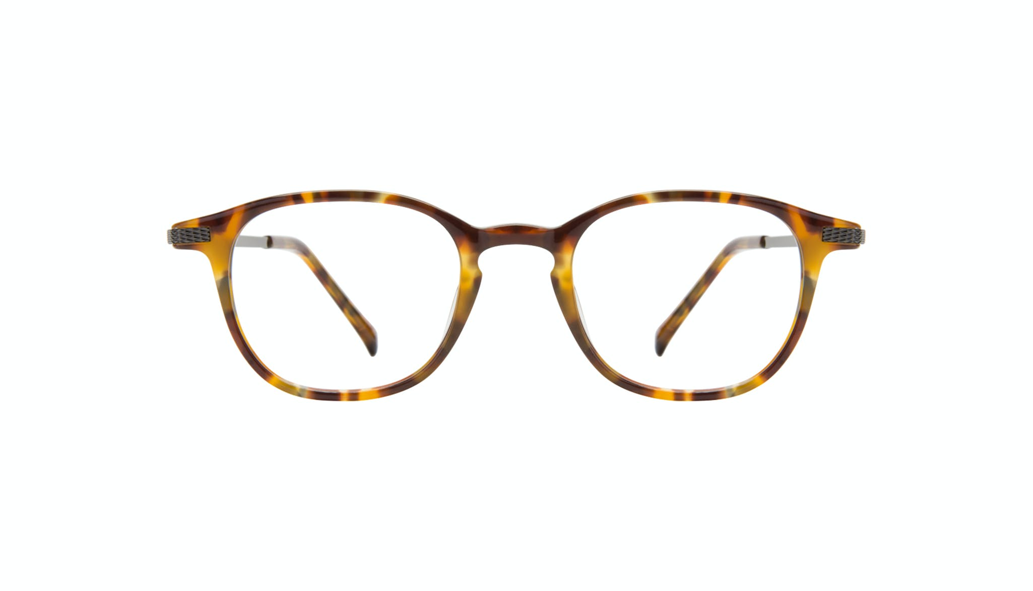 Affordable Fashion Glasses Round Eyeglasses Men Tux Havana Tort Front