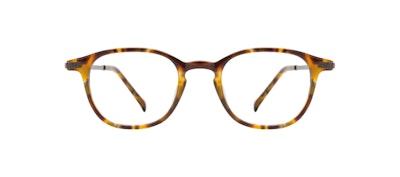 Affordable Fashion Glasses Round Eyeglasses Men Tux M Havana Tort Front