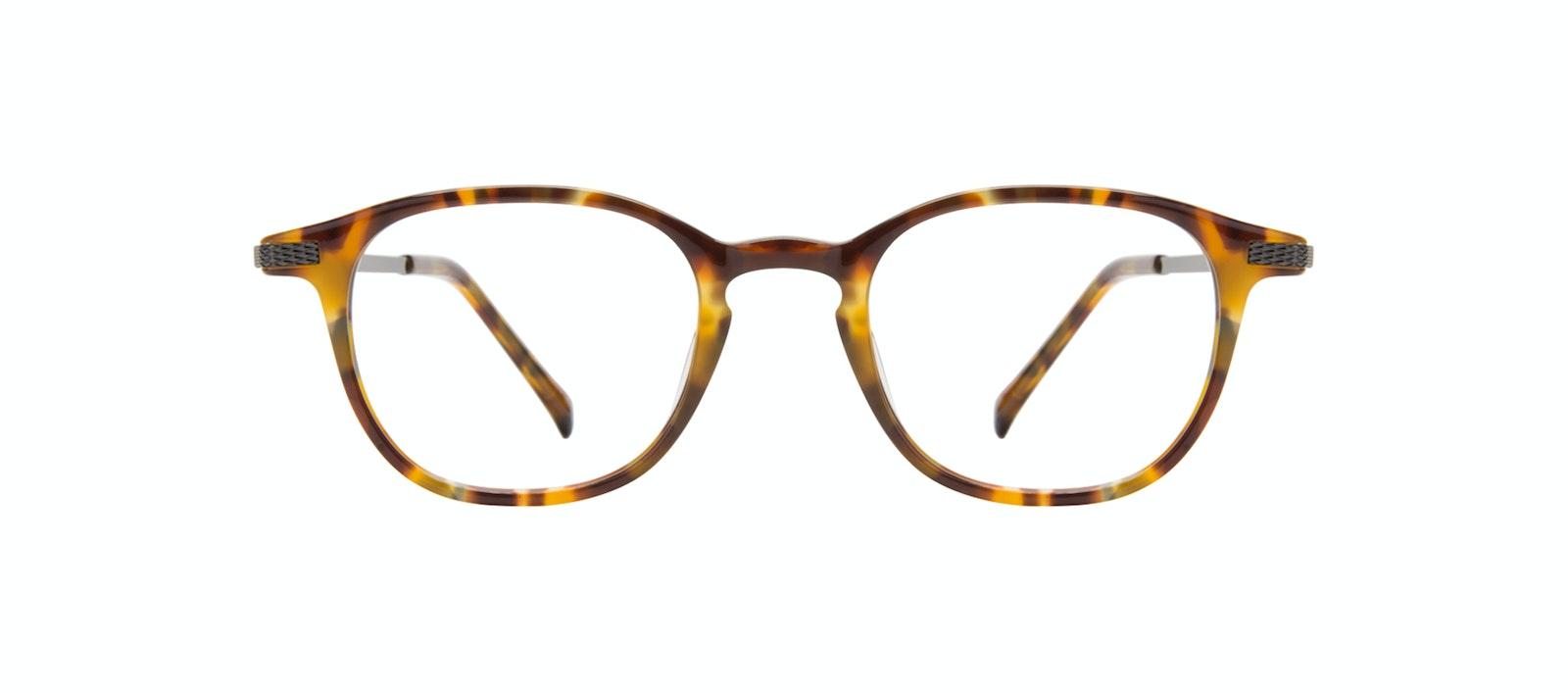 Affordable Fashion Glasses Round Eyeglasses Men Tux Havana Tort Front