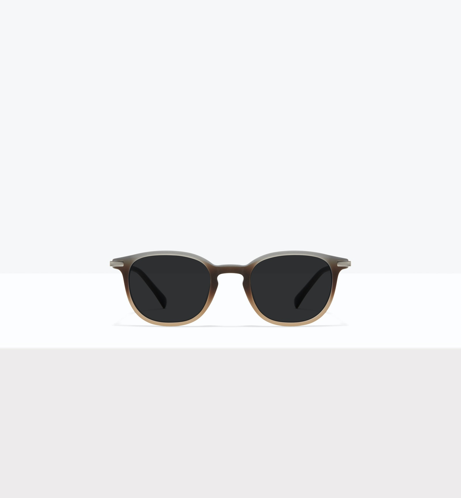 Affordable Fashion Glasses Round Sunglasses Men Tux M Matte Fog