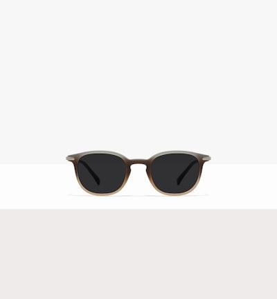 Affordable Fashion Glasses Round Sunglasses Men Tux M Matte Fog Front