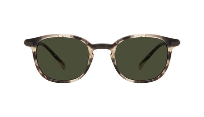Affordable Fashion Glasses Round Sunglasses Men Tux Mocha Tort Matte Front