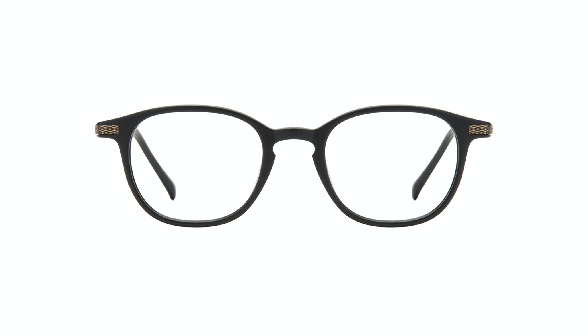 Affordable Fashion Glasses Round Eyeglasses Men Tux Onyx Matte