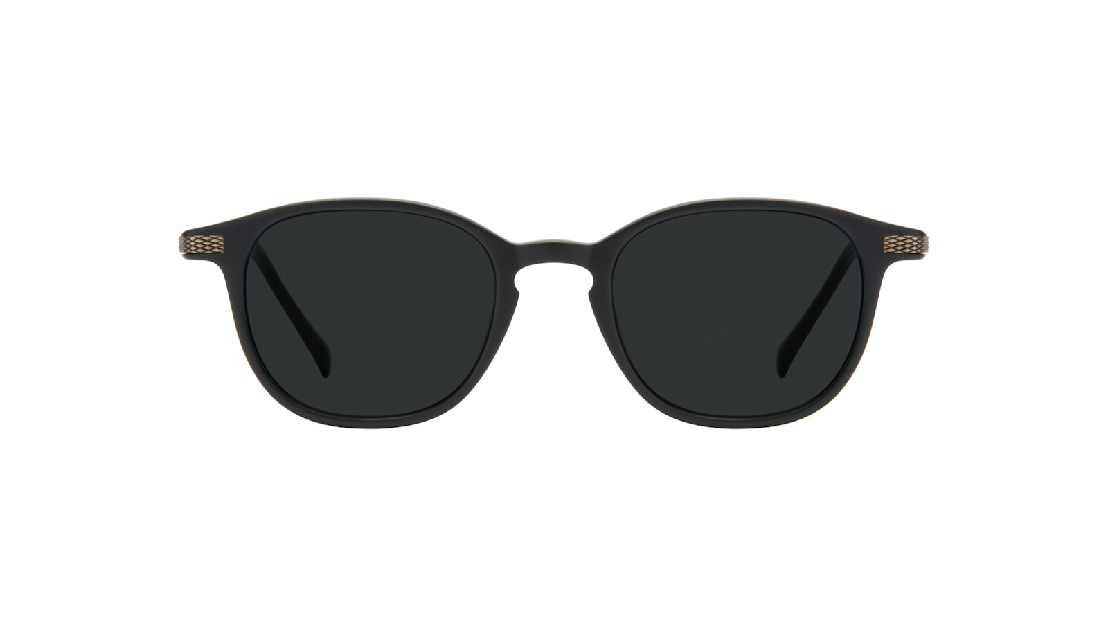 Affordable Fashion Glasses Round Sunglasses Men Tux Onyx Matte