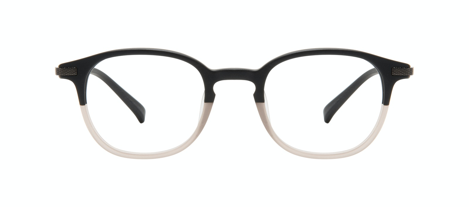 Affordable Fashion Glasses Round Eyeglasses Men Tux Wood Terra Matte Front