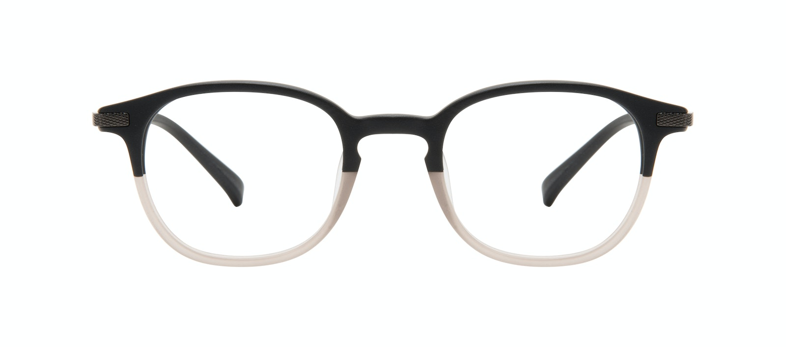 Affordable Fashion Glasses Round Eyeglasses Men Tux M Wood Terra Matte Front