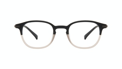 Affordable Fashion Glasses Round Eyeglasses Men Tux Wood Terra Matte Front