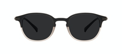 Affordable Fashion Glasses Round Sunglasses Men Tux M Wood Terra Matte Front