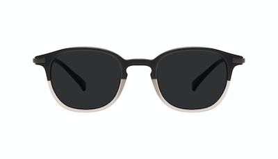 Affordable Fashion Glasses Round Sunglasses Men Tux Wood Terra Matte Front