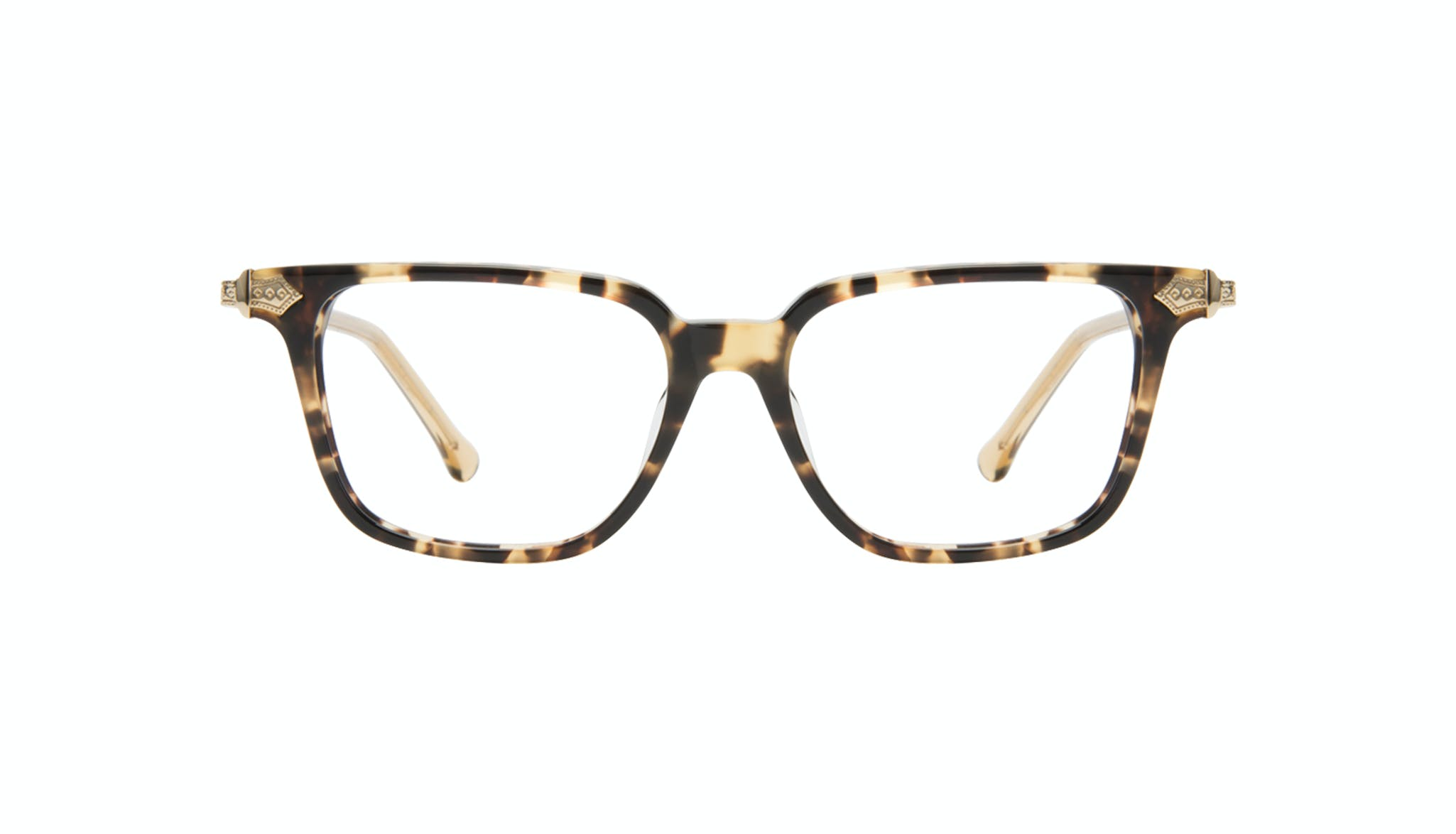 Affordable Fashion Glasses Square Eyeglasses Women Twinkle Golden Chip