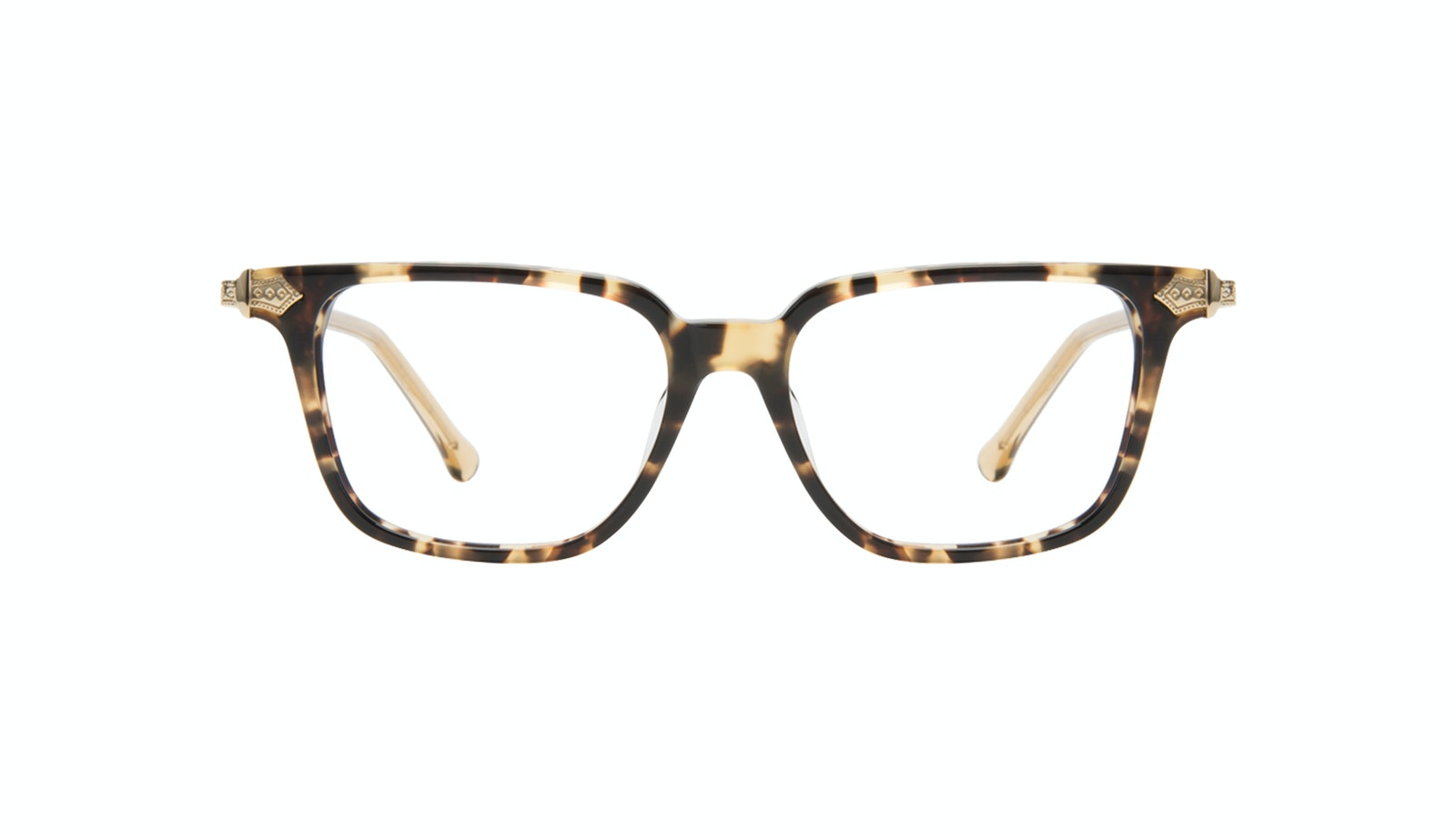 Affordable Fashion Glasses Square Eyeglasses Women Twinkle Golden Chip
