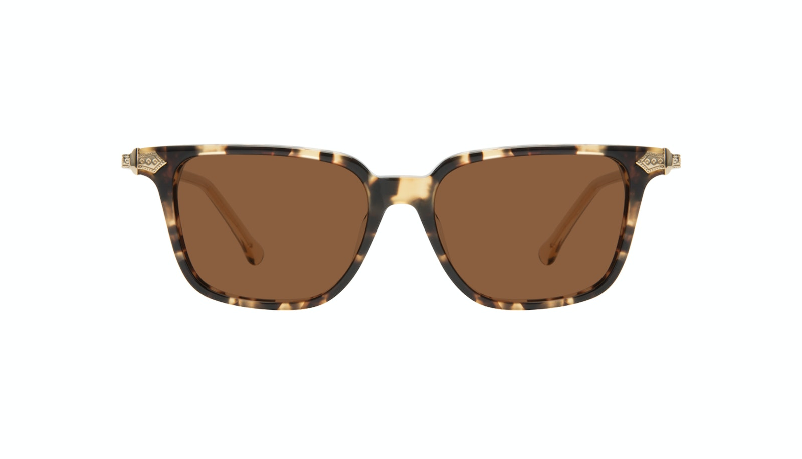 Affordable Fashion Glasses Square Sunglasses Women Twinkle Golden Chip