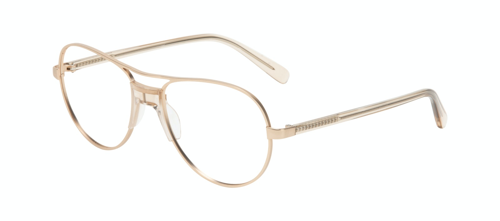 Affordable Fashion Glasses Aviator Eyeglasses Women Ultimate Gold Tilt