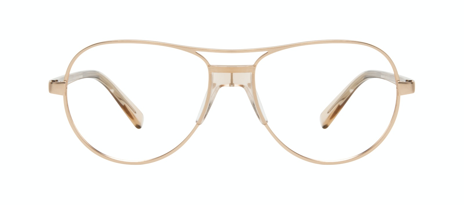 Affordable Fashion Glasses Aviator Eyeglasses Women Ultimate Gold Front