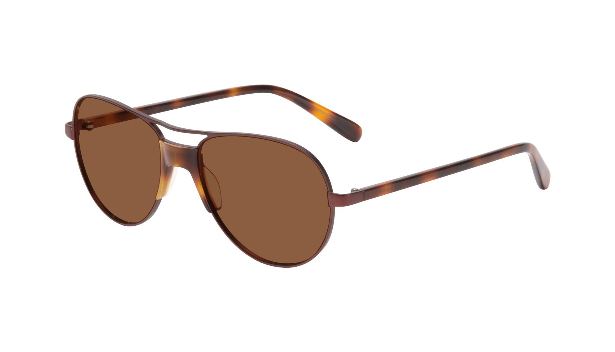 Affordable Fashion Glasses Aviator Sunglasses Women Ultimate Wine Tilt