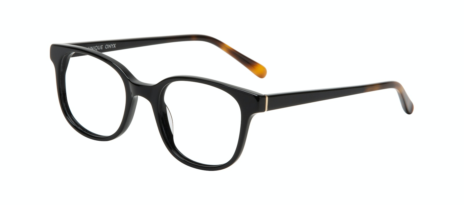 Affordable Fashion Glasses Square Eyeglasses Women Unique Onyx Tilt