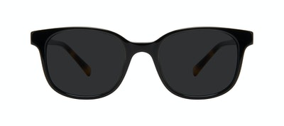 Affordable Fashion Glasses Square Sunglasses Women Unique Onyx Front