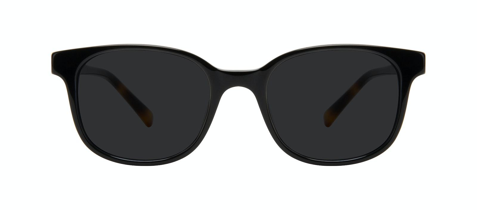 Affordable Fashion Glasses Square Sunglasses Women Unique Onyx Front