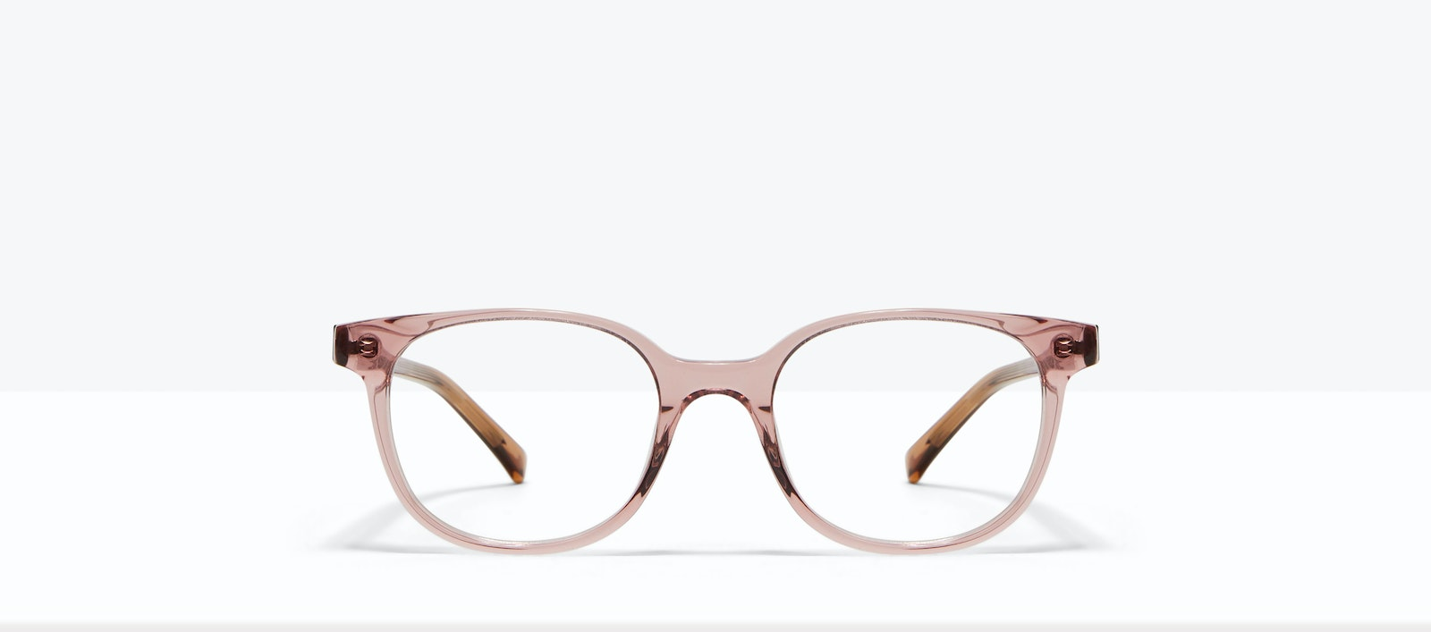Affordable Fashion Glasses Square Eyeglasses Women Unique Rose Front