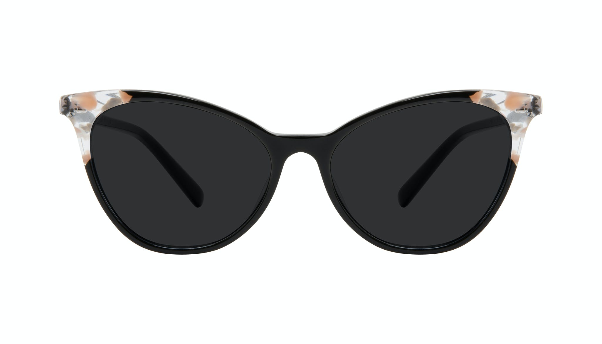 Affordable Fashion Glasses Cat Eye Eyeglasses Women Unreal Black Stone