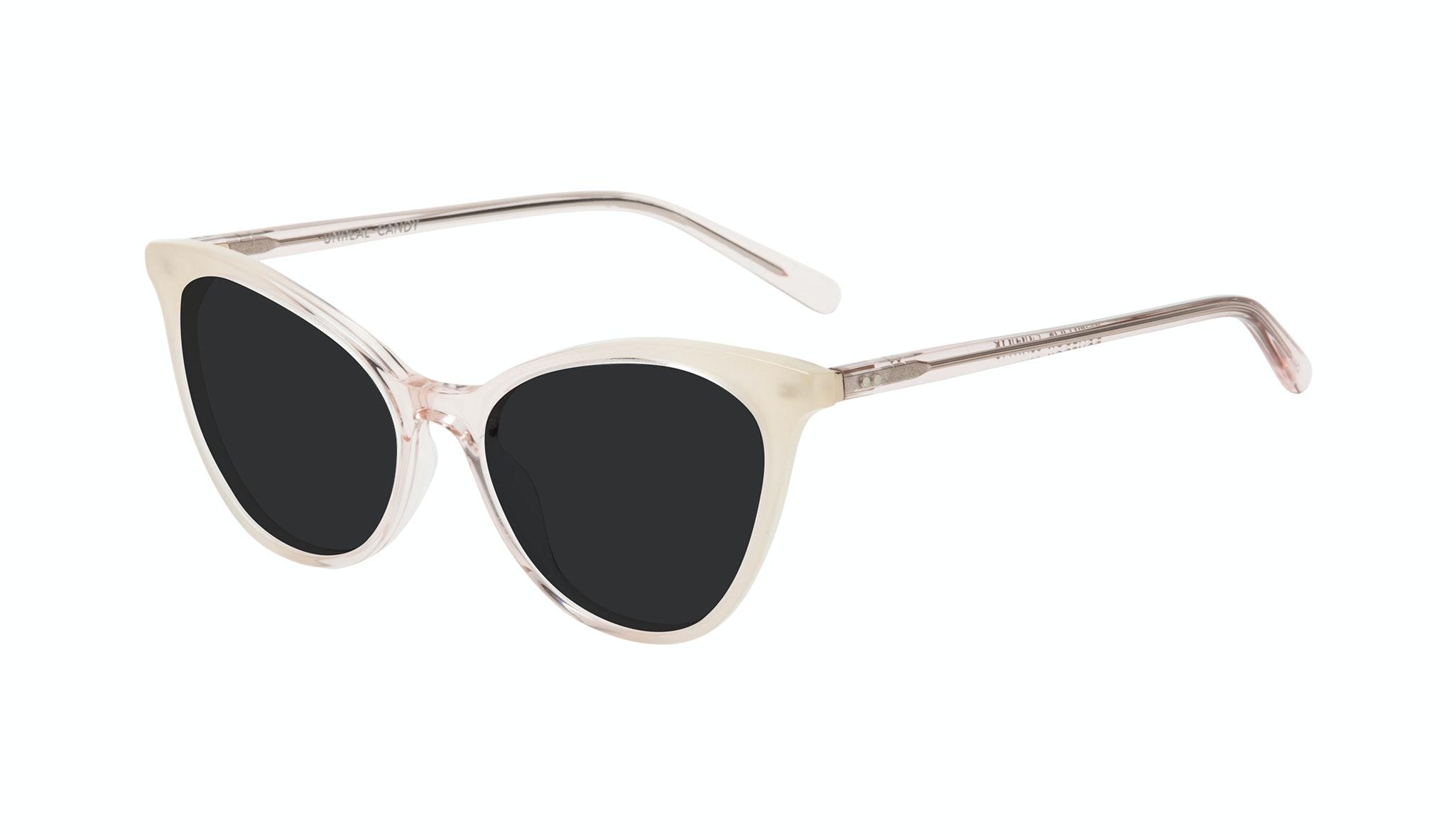 Affordable Fashion Glasses Cat Eye Sunglasses Women Unreal Candy Tilt