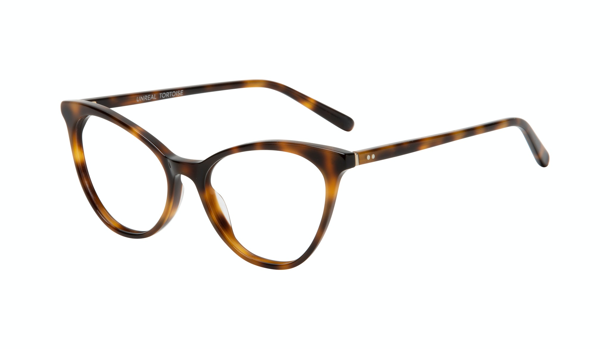 Affordable Fashion Glasses Cat Eye Eyeglasses Women Unreal Tortoise Tilt