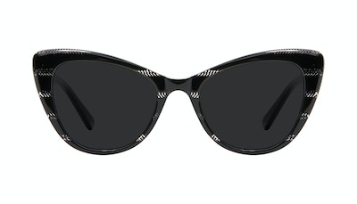 Affordable Fashion Glasses Cat Eye Sunglasses Women Verve Night Front
